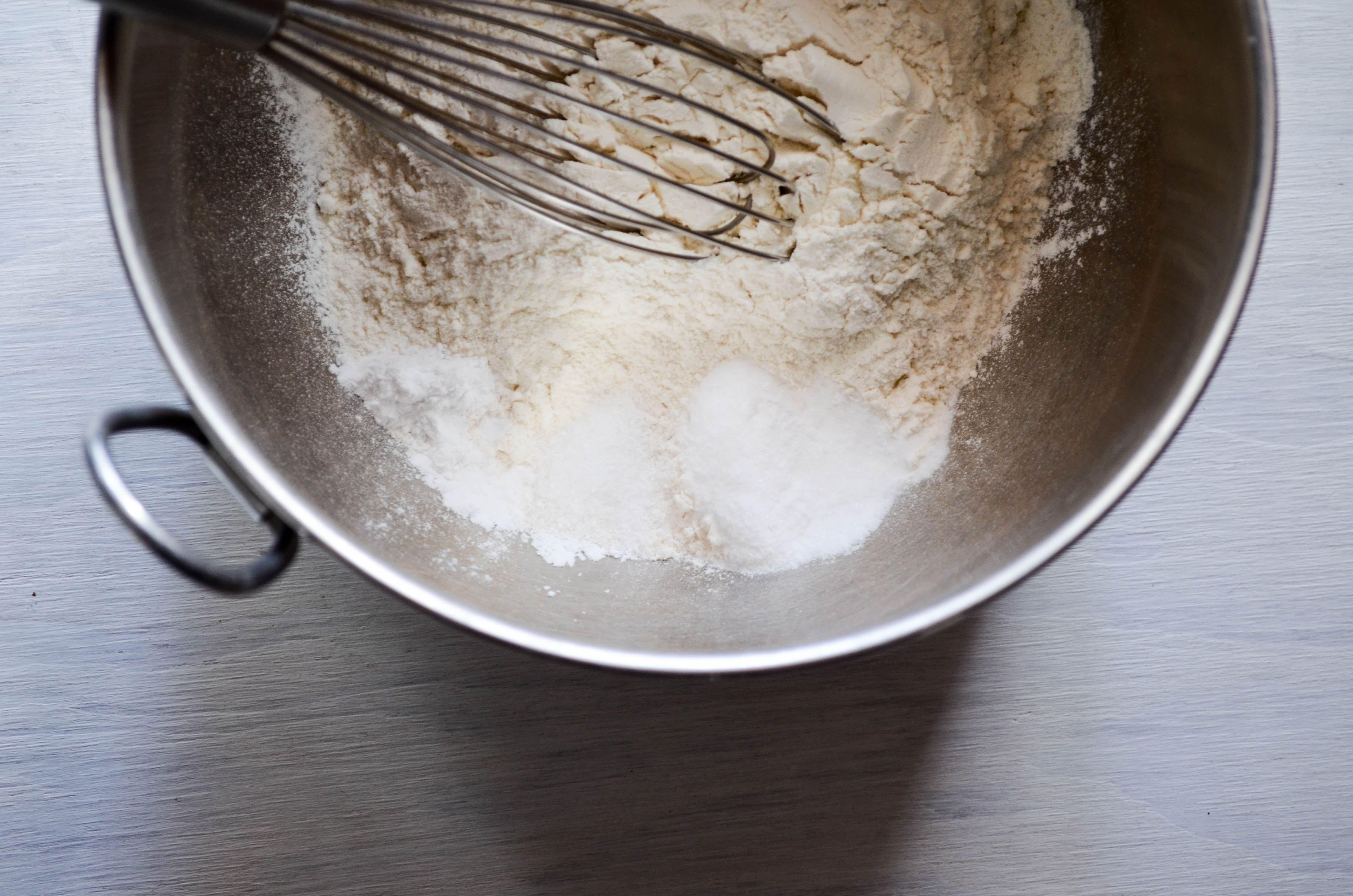 Dry Ingredients for Funfetti Cookies