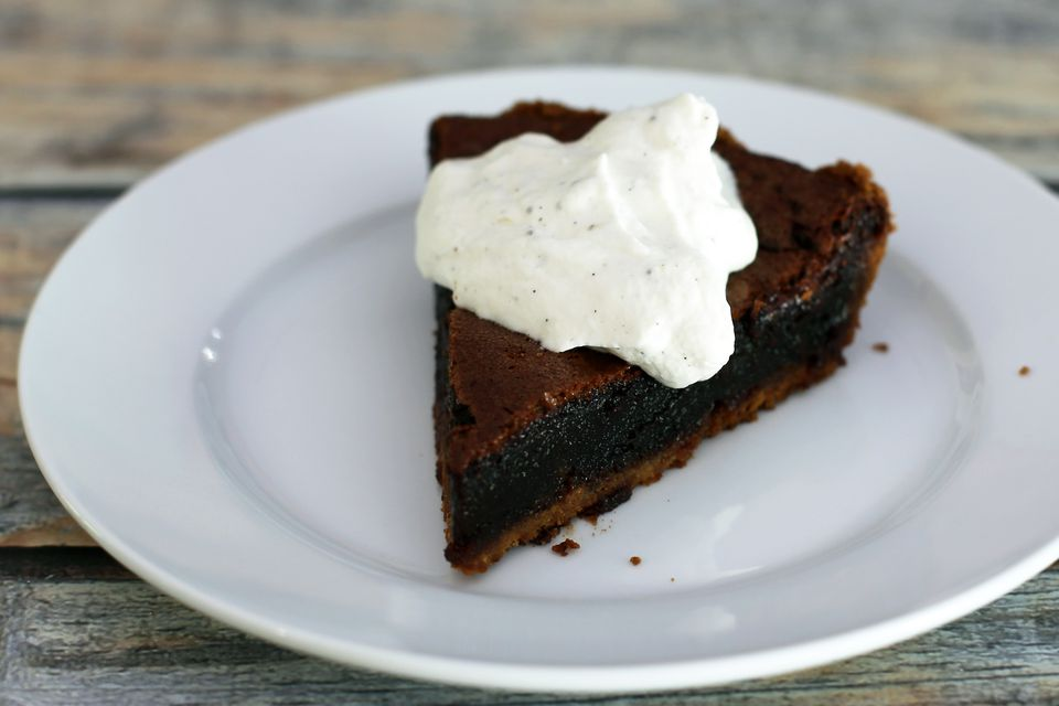 Chocolate Mississippi Mud Pie