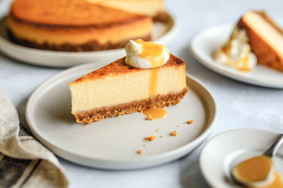 Maple walnut cheesecake recipe