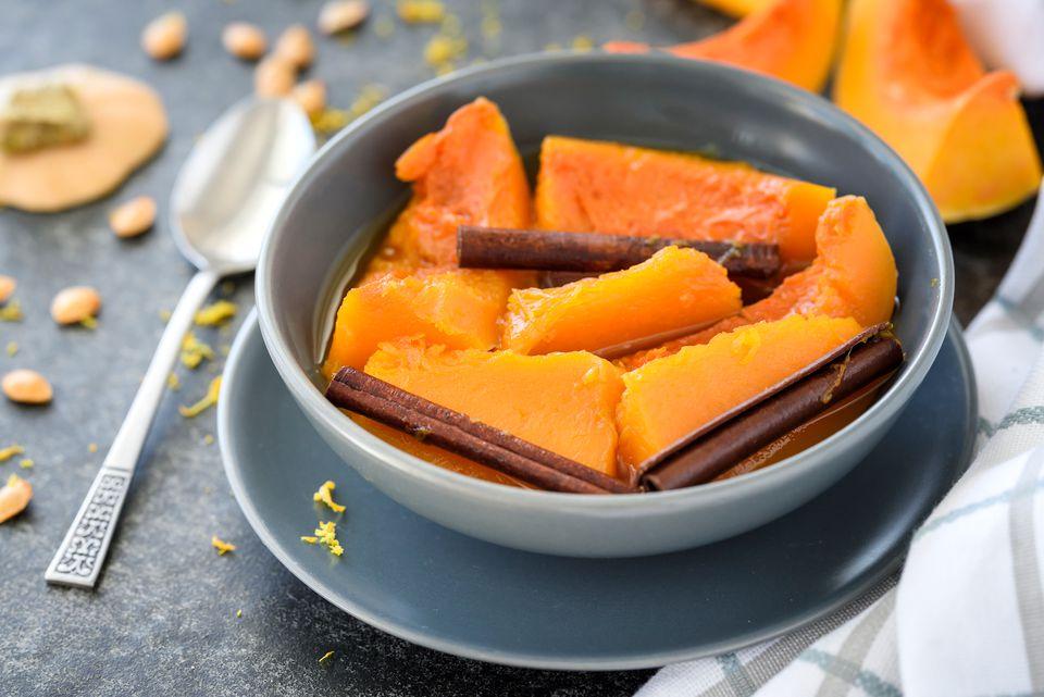 Calabaza en tacha candied pumpkin recipe