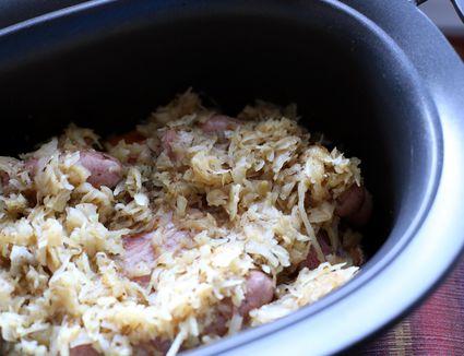 Sauerkraut and Sausages