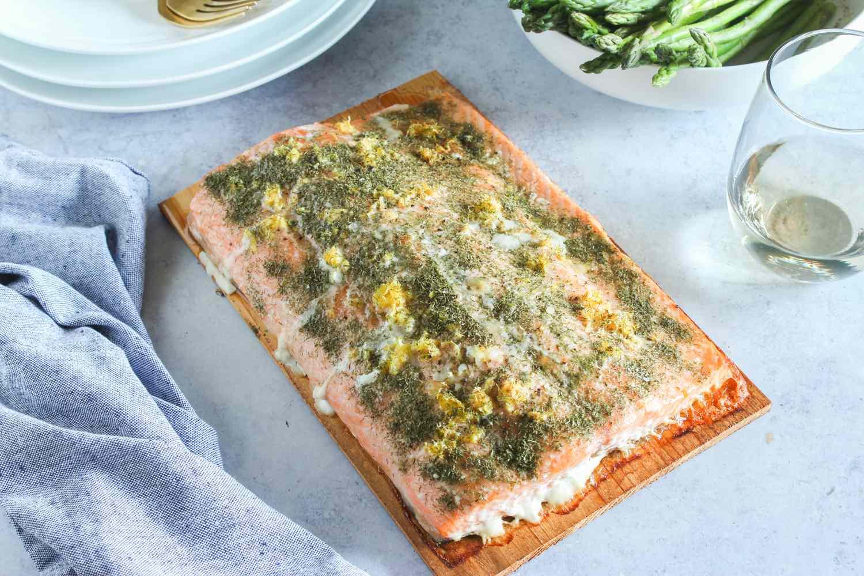 Dear plank salmon recipe