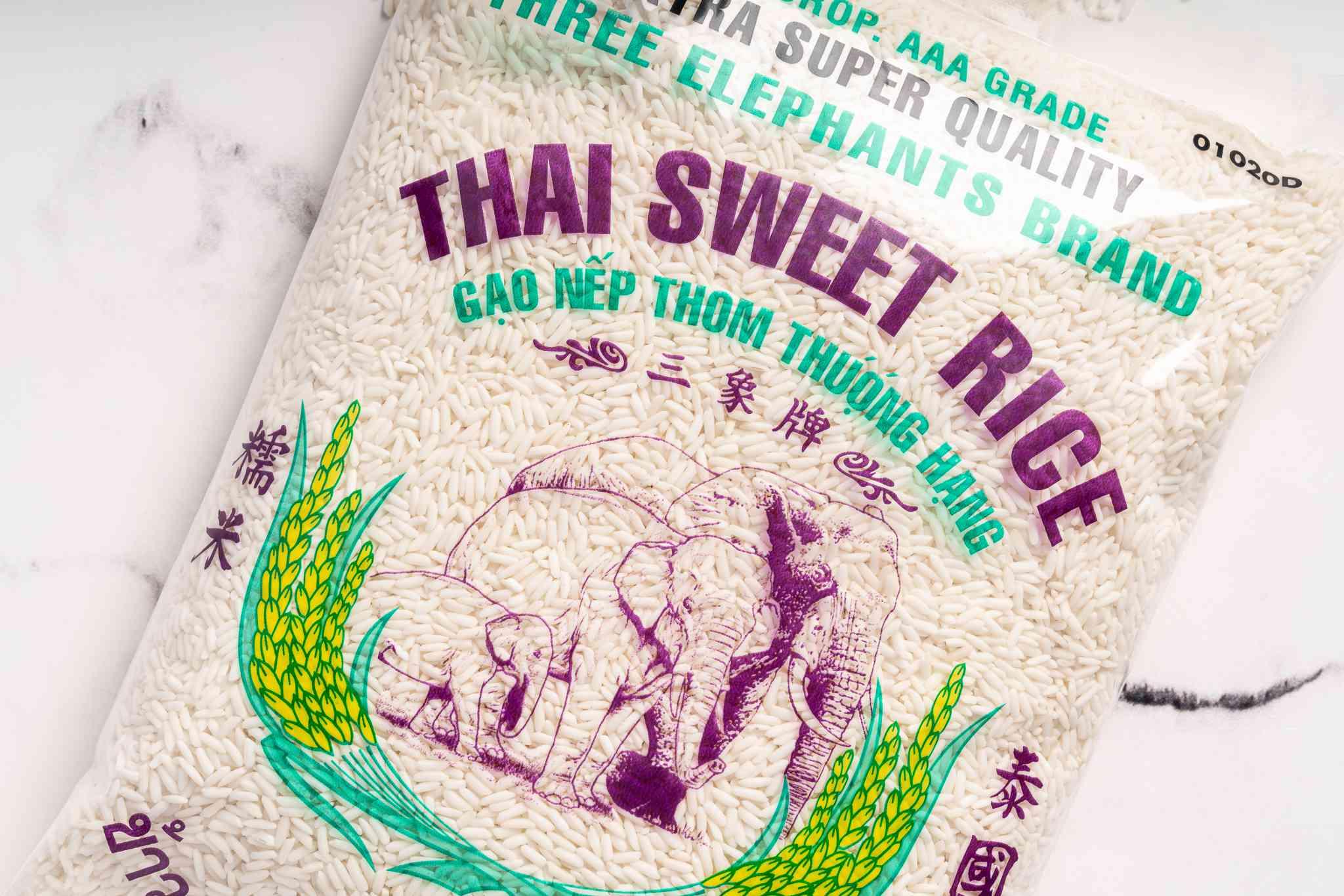 bag of Thai sweet rice