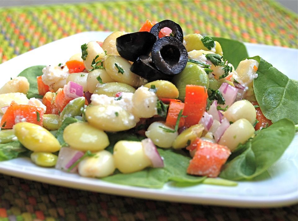 Solterito Corn and Lima Bean Salad