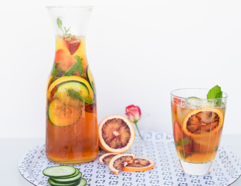 Classic Pimm's and Lemonade