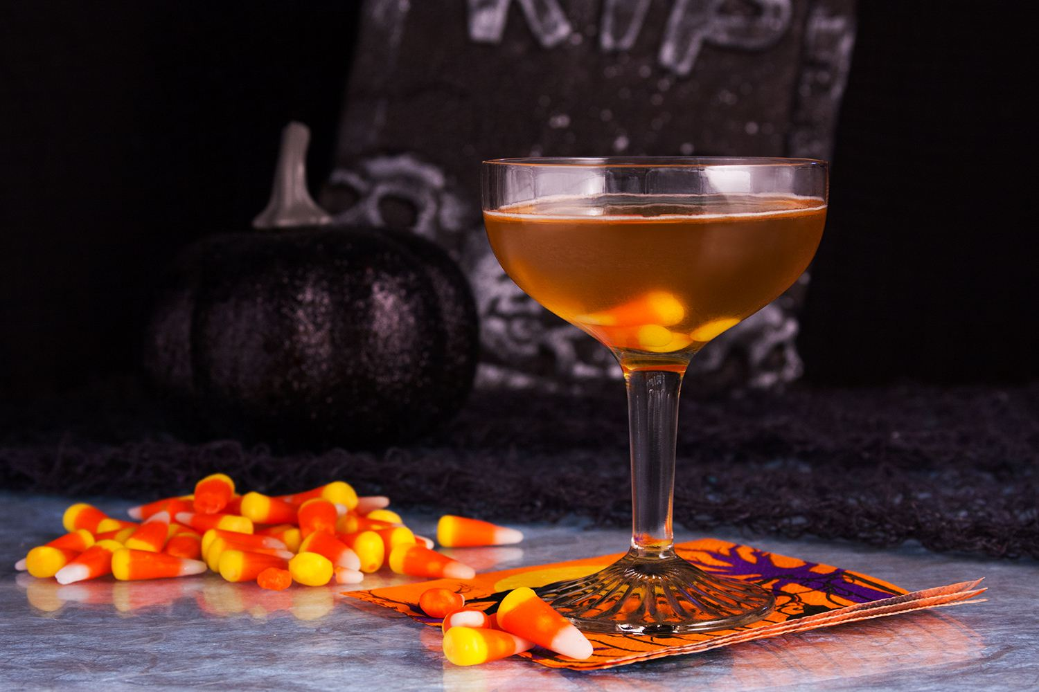 Camarena Tequila Candy Corn Cordial Cocktail