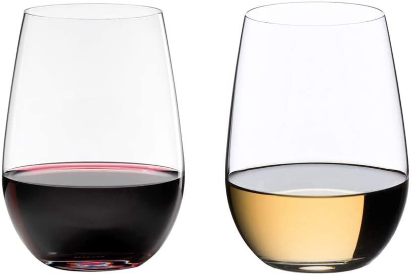 Riedel O Wine Tumbler Sauvignon Blanc/Riesling Stemless Glass Set