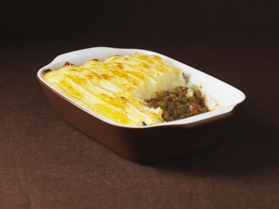 Corned beef shepherd's pie