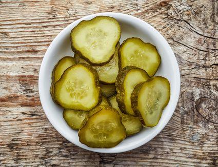 Korean Pickled Cucumbers