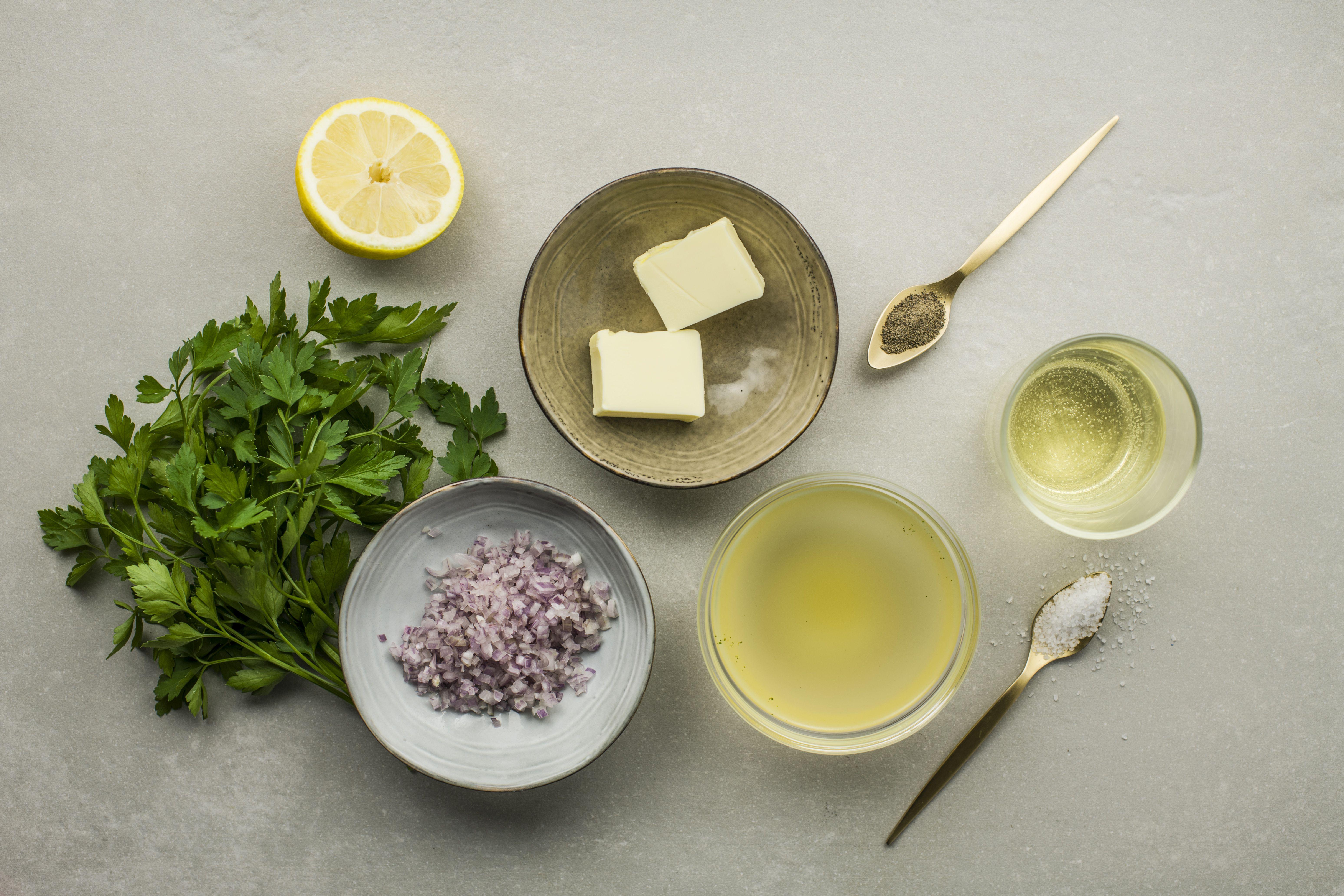 Basic reduction sauce gravy ingredients