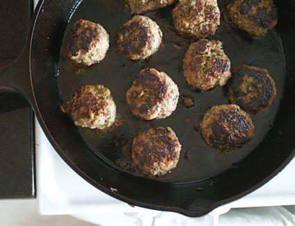 Minted Lamb Meatballs