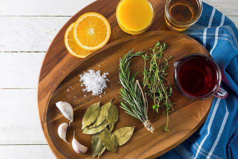 Cranberry turkey brine ingredients