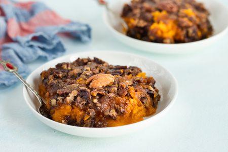 Crock Pot Sweet Potato Casserole Recipe