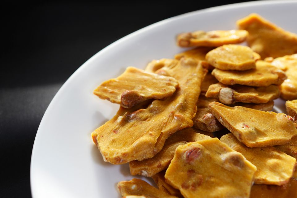 Microwave Peanut Brittle From Candy