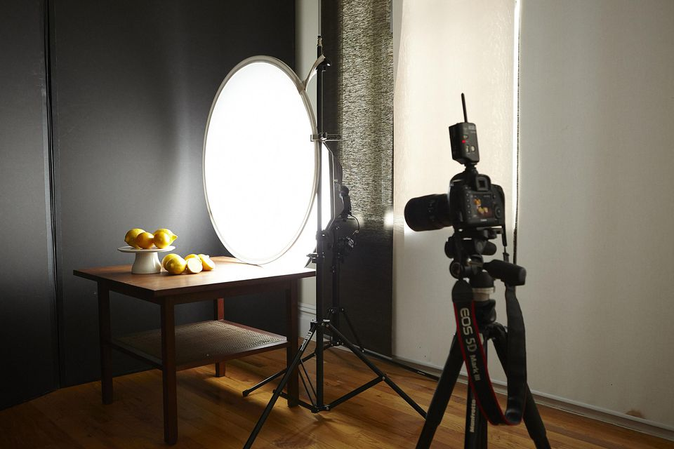 Speedlight flash setup