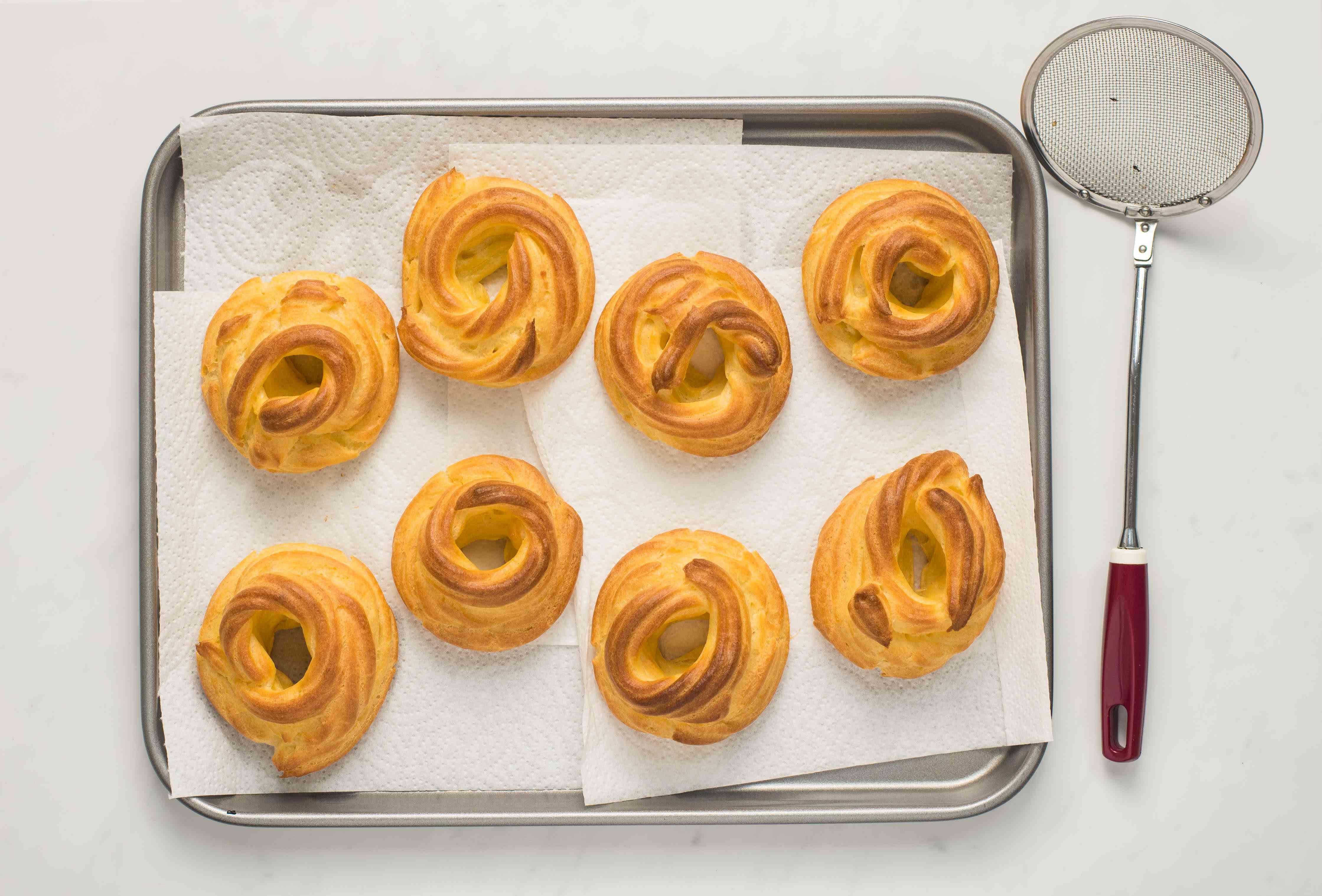 Pastry doughnuts