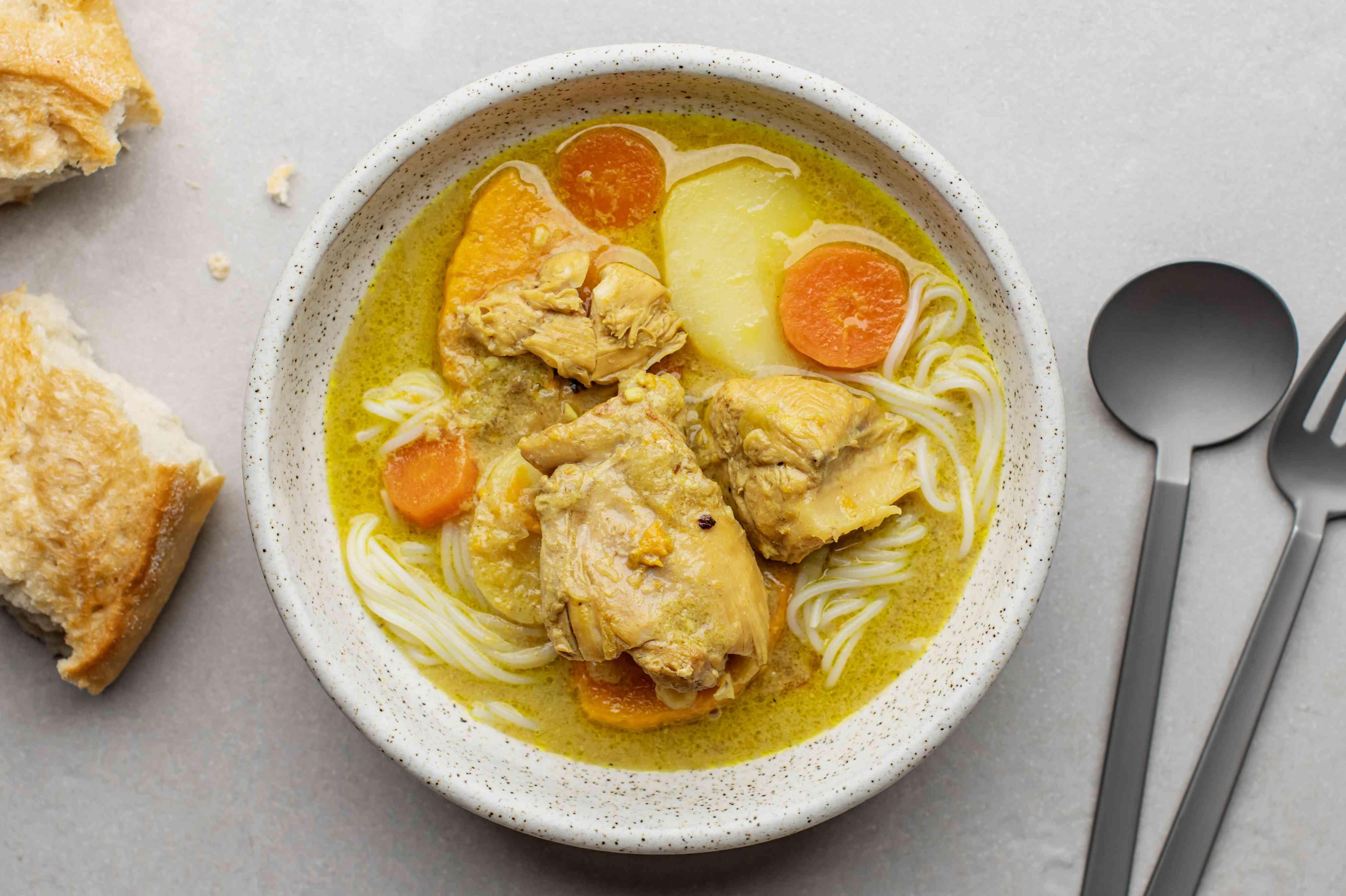 Vietnamese chicken curry recipe
