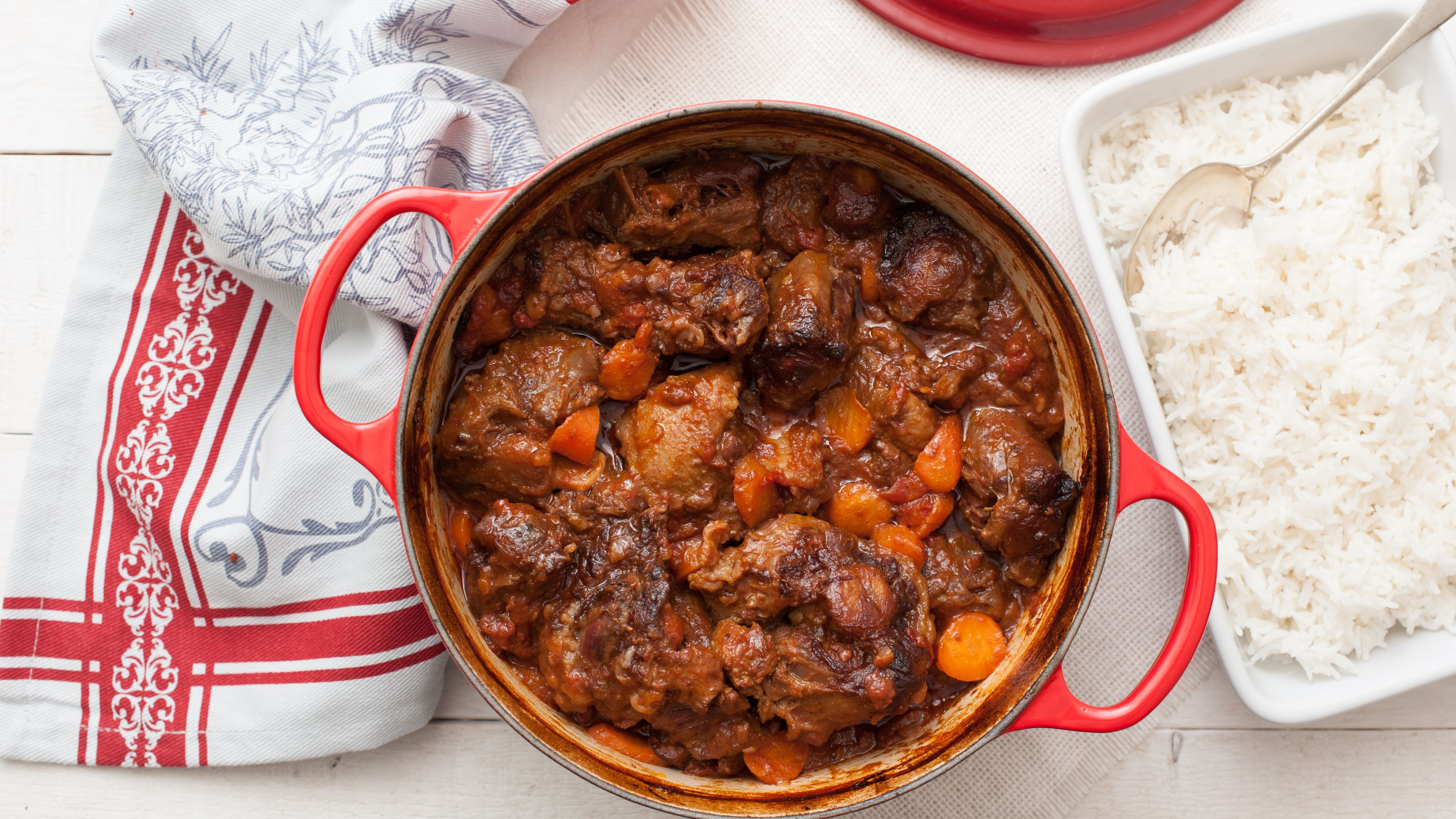 Braised Oxtails Recipe