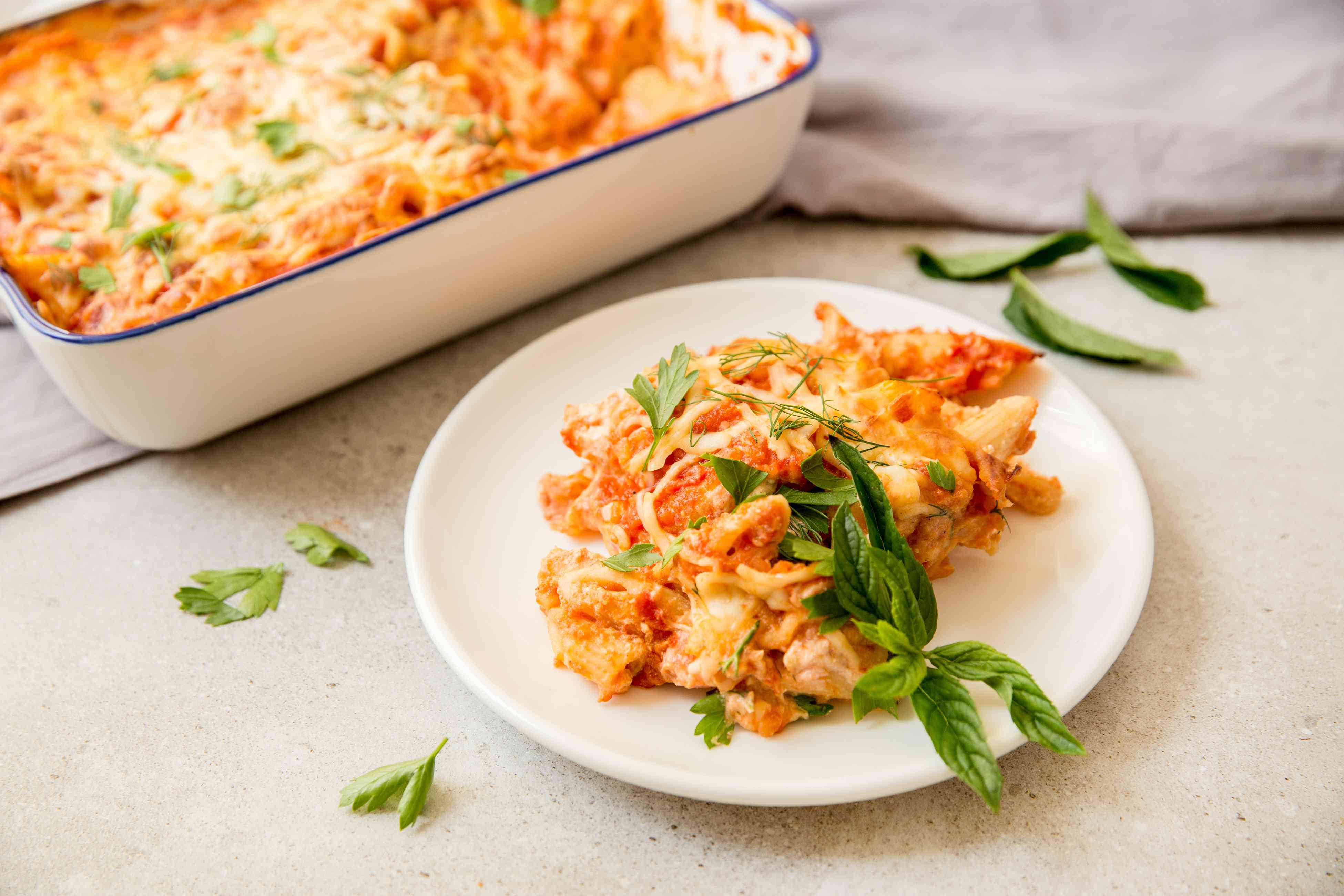 Basic oven baked pasta recipe