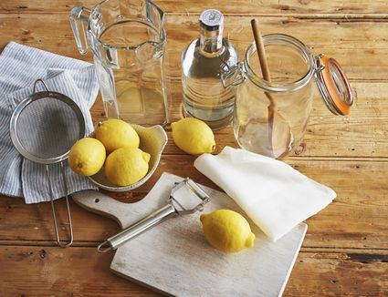 Equipment and ingredients for Infusing spirits