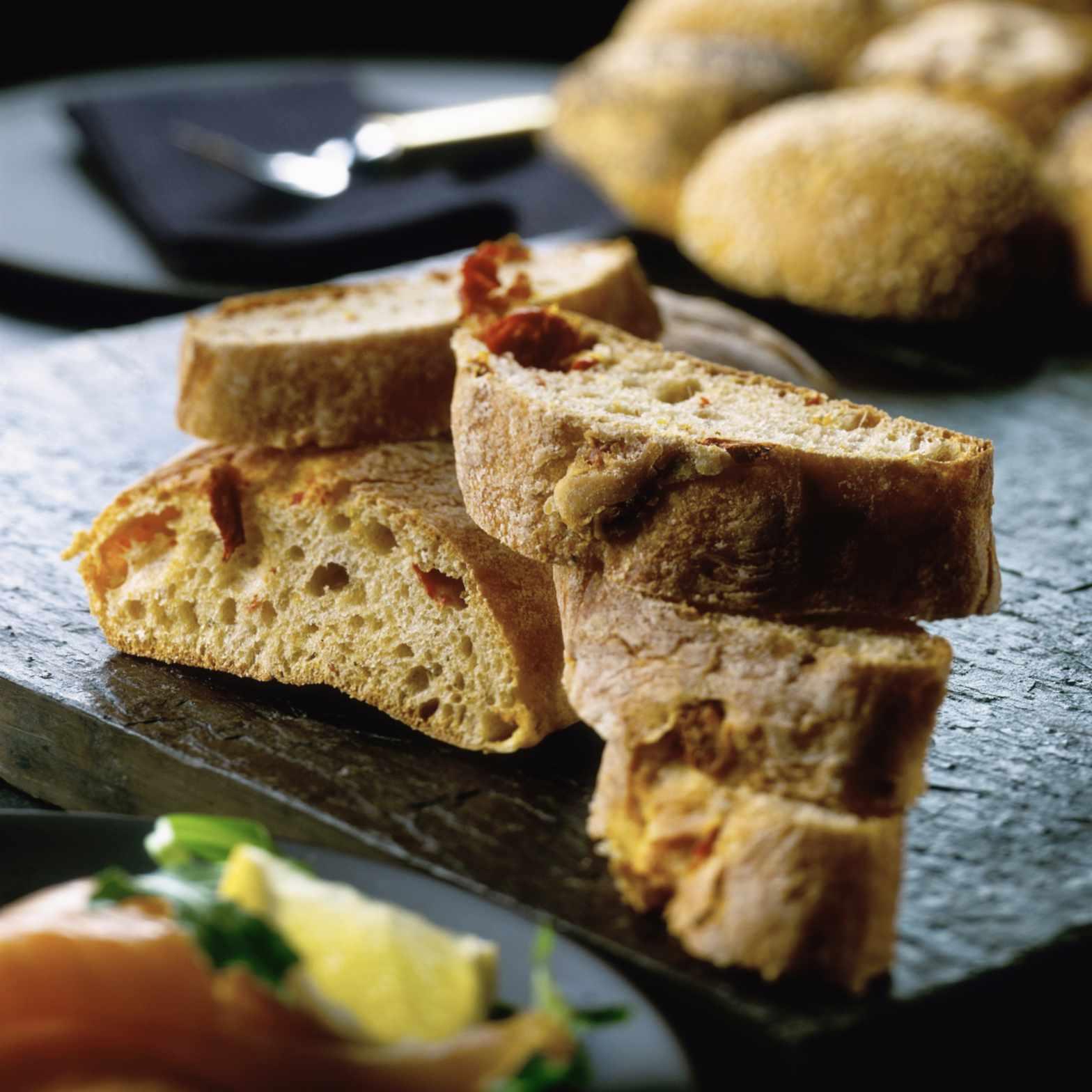 Homemade Prosciutto Bread