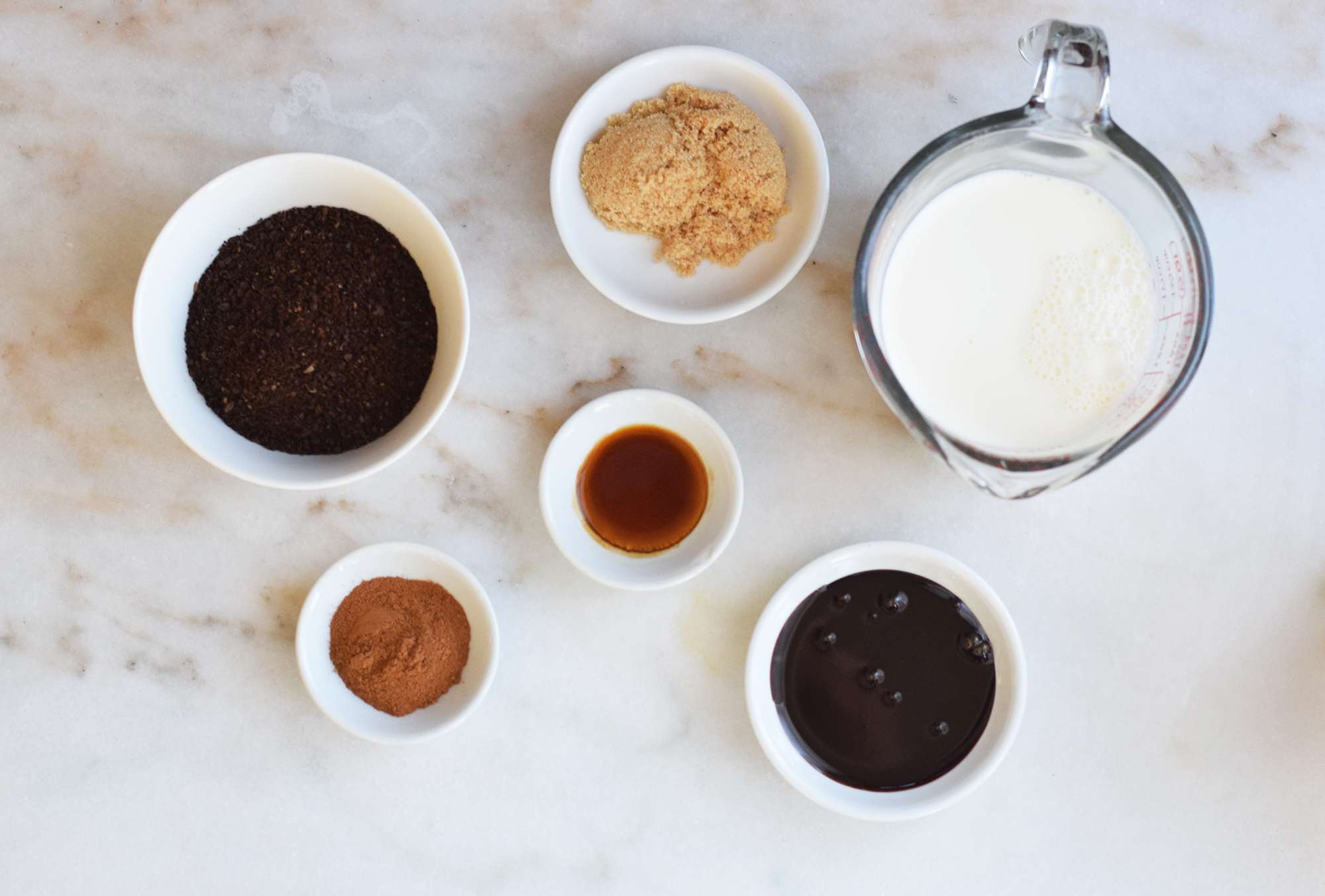 Mexican coffee ingredients