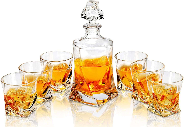 Lanfula Whiskey Decanter and Glasses