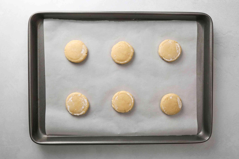 Shape the Lofthouse cookies on parchment paper