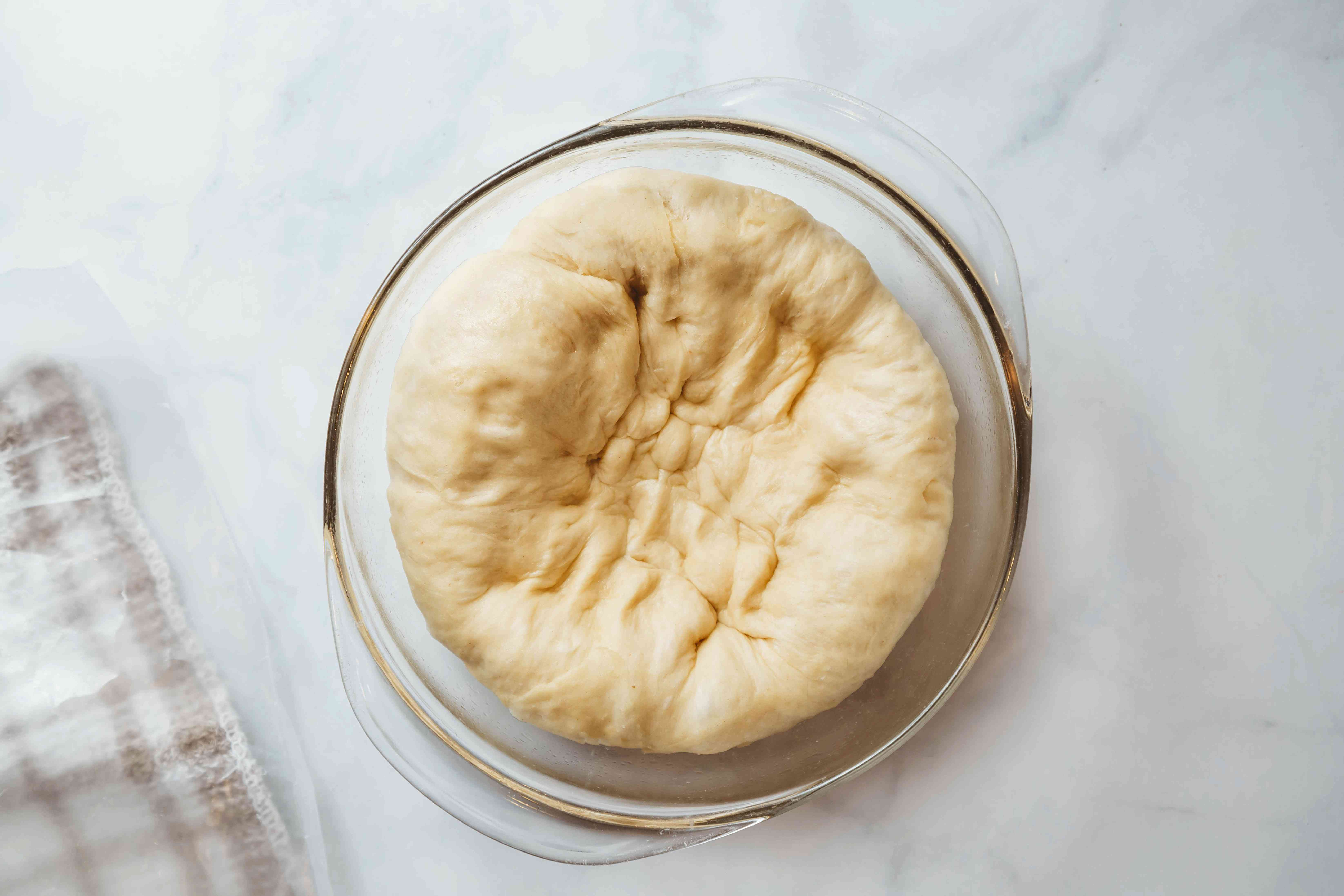 Punch down the dough