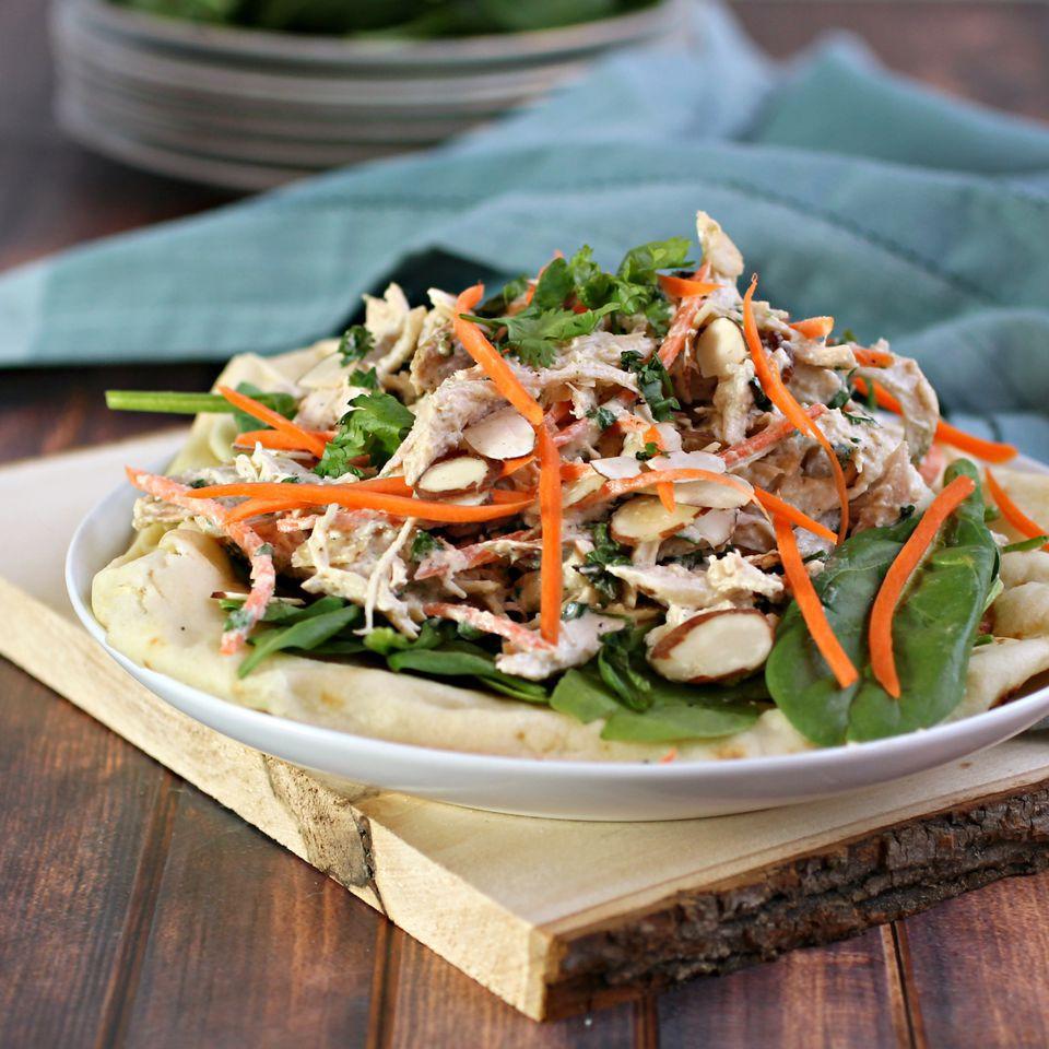 Crunchy Middle Eastern Chicken Salad