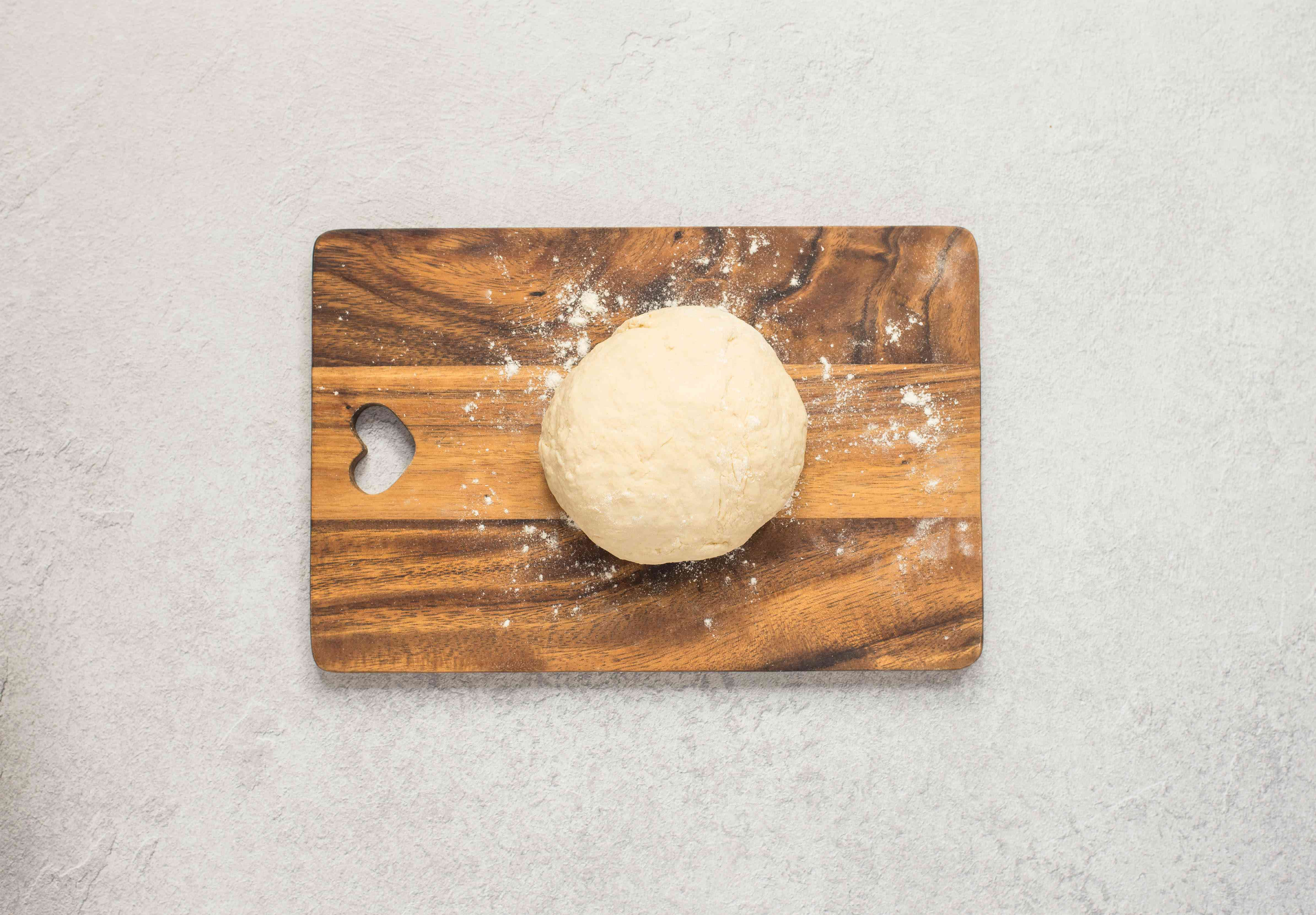 Dough that is smooth workable