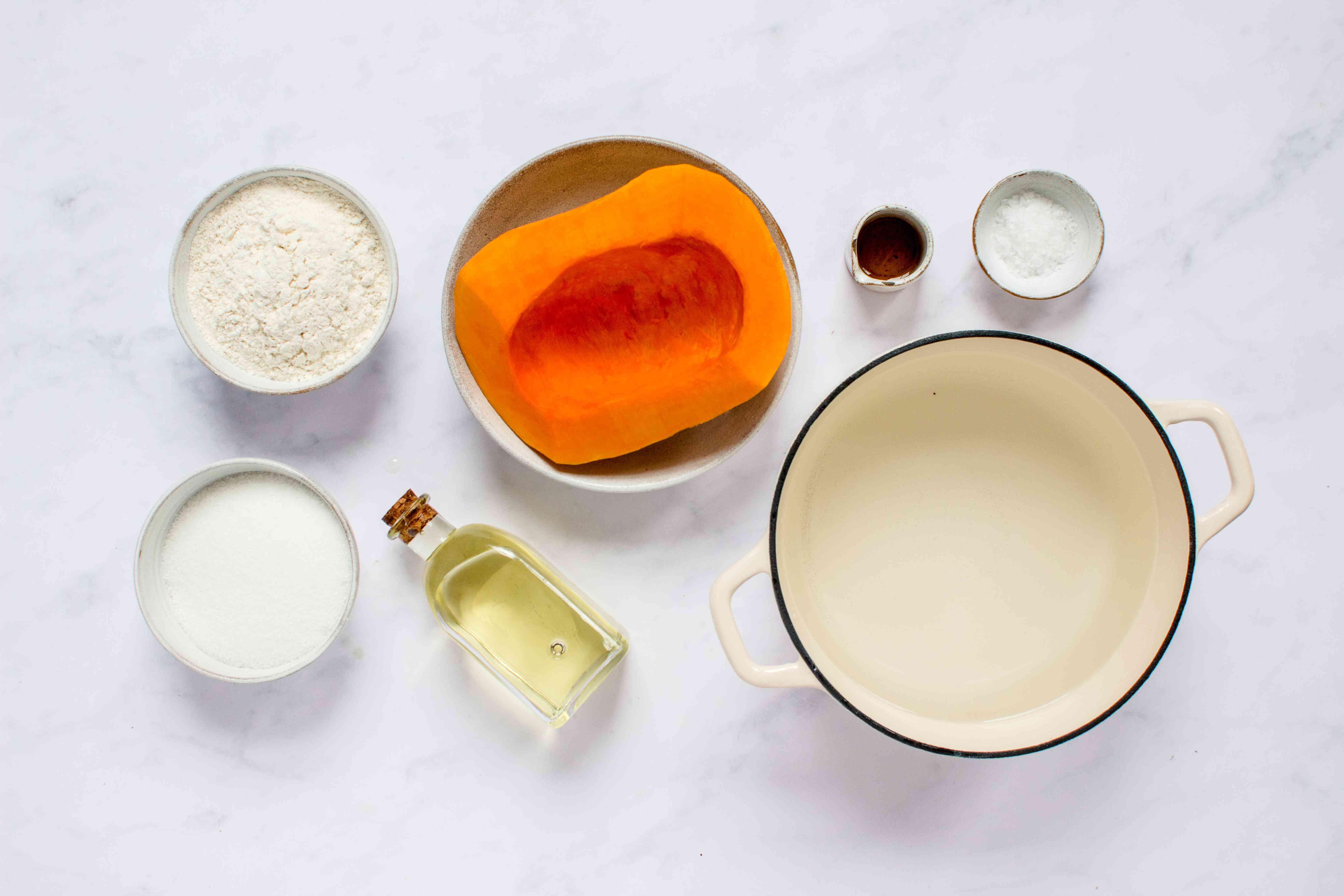 West Indian Pumpkin Fritters (Frituras de Calabaza) ingredients