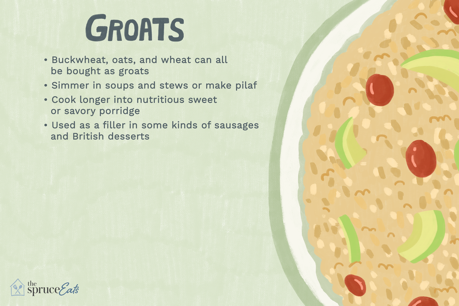 what are groats