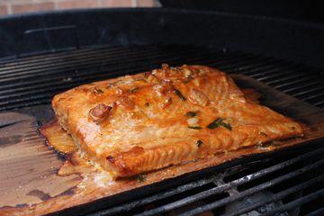 Smoky Cedar Plank Salmon