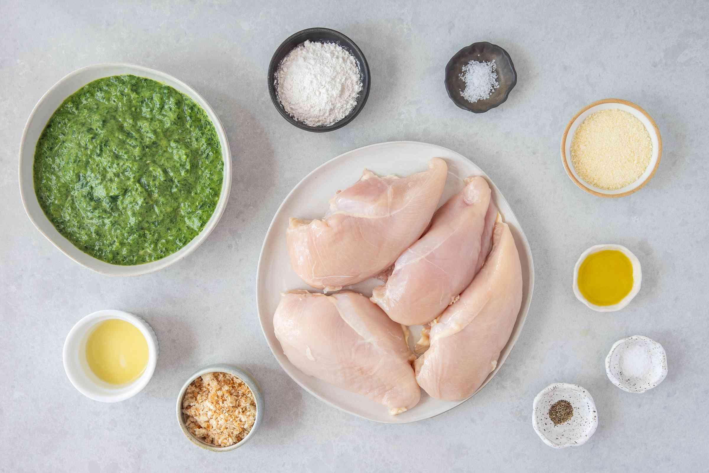Easy Chicken Florentine Bake With Spinach Souffle ingredients