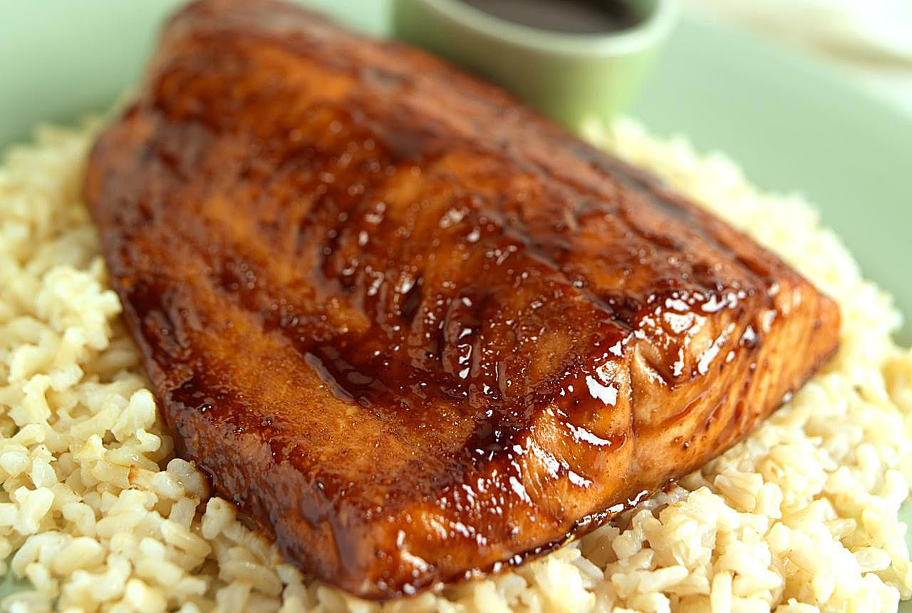 Easy Honey-Soy Baked Salmon