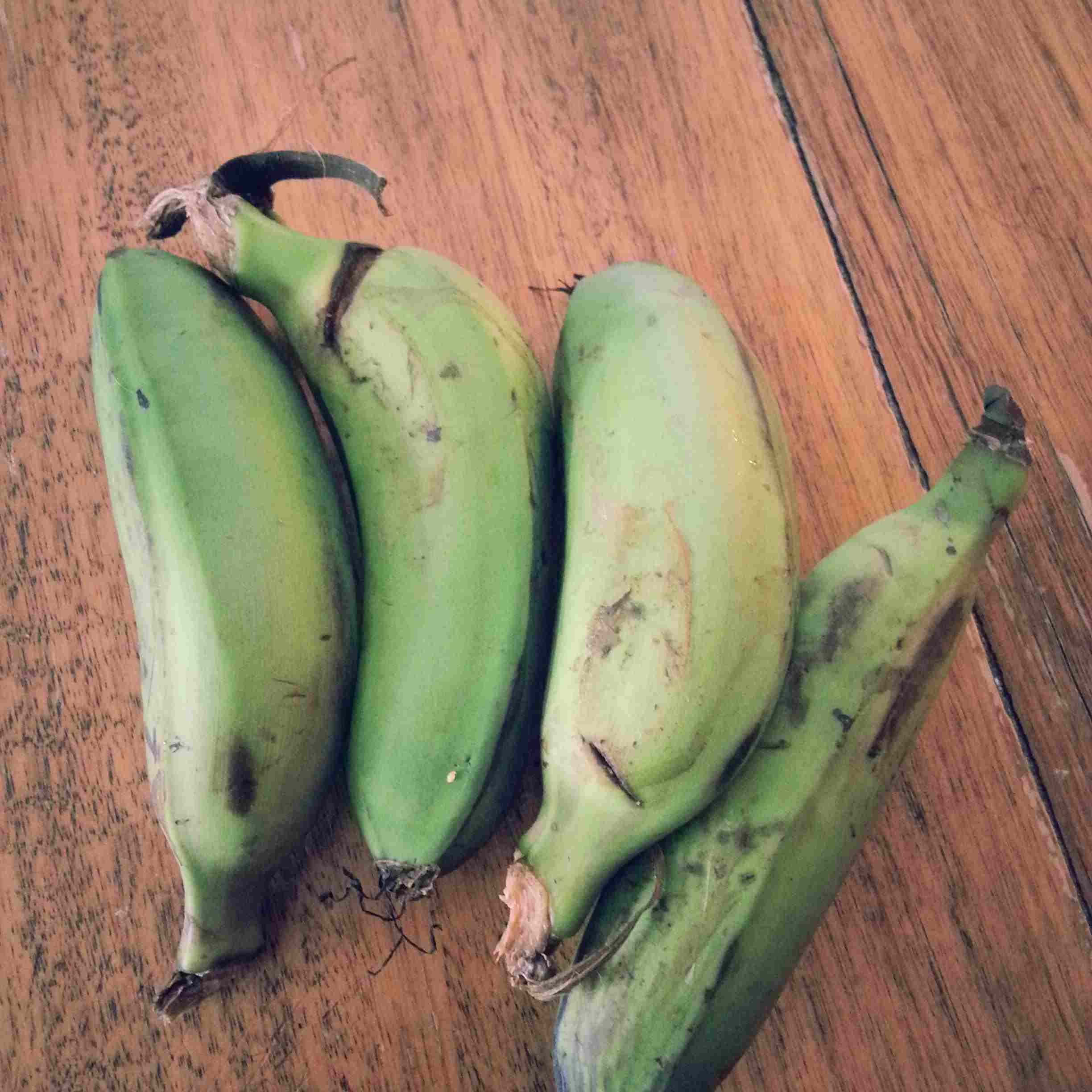 Green bananas for matoke