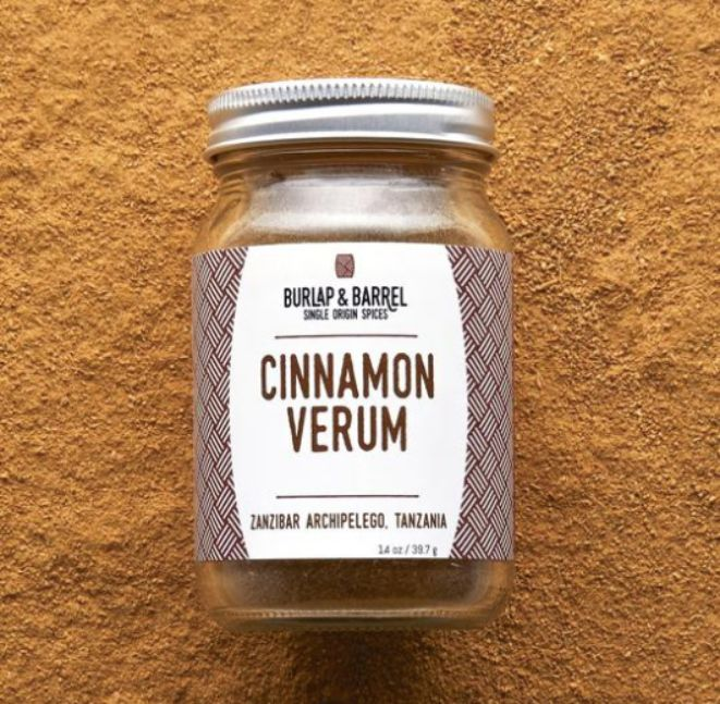 Burlap and Barrel Cinnamon Verum