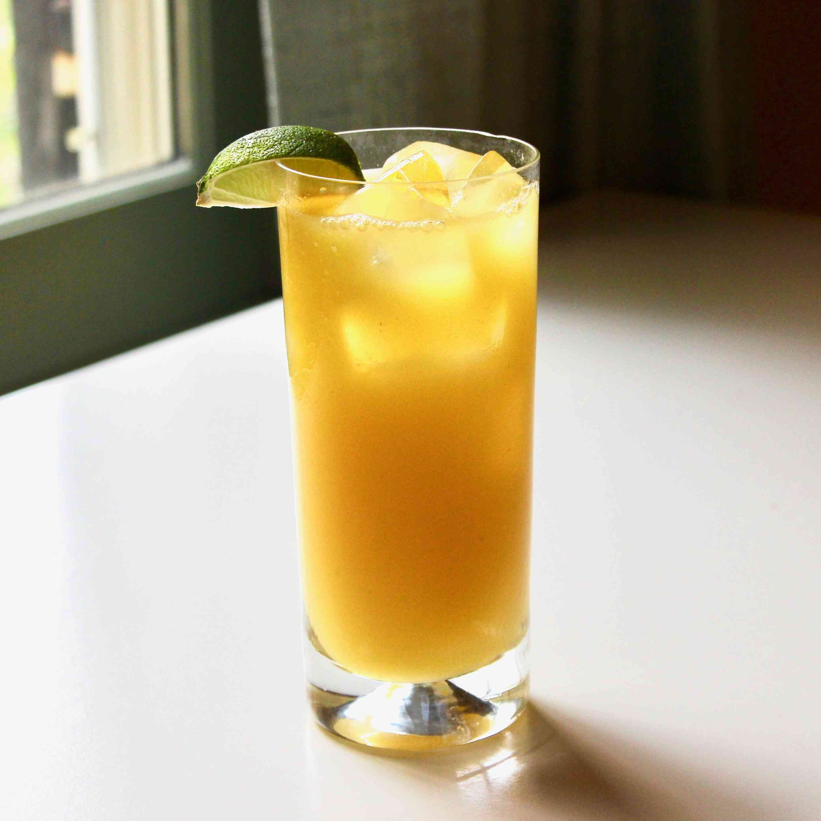 Pineapple Tequila Mixed Drink Tester Image