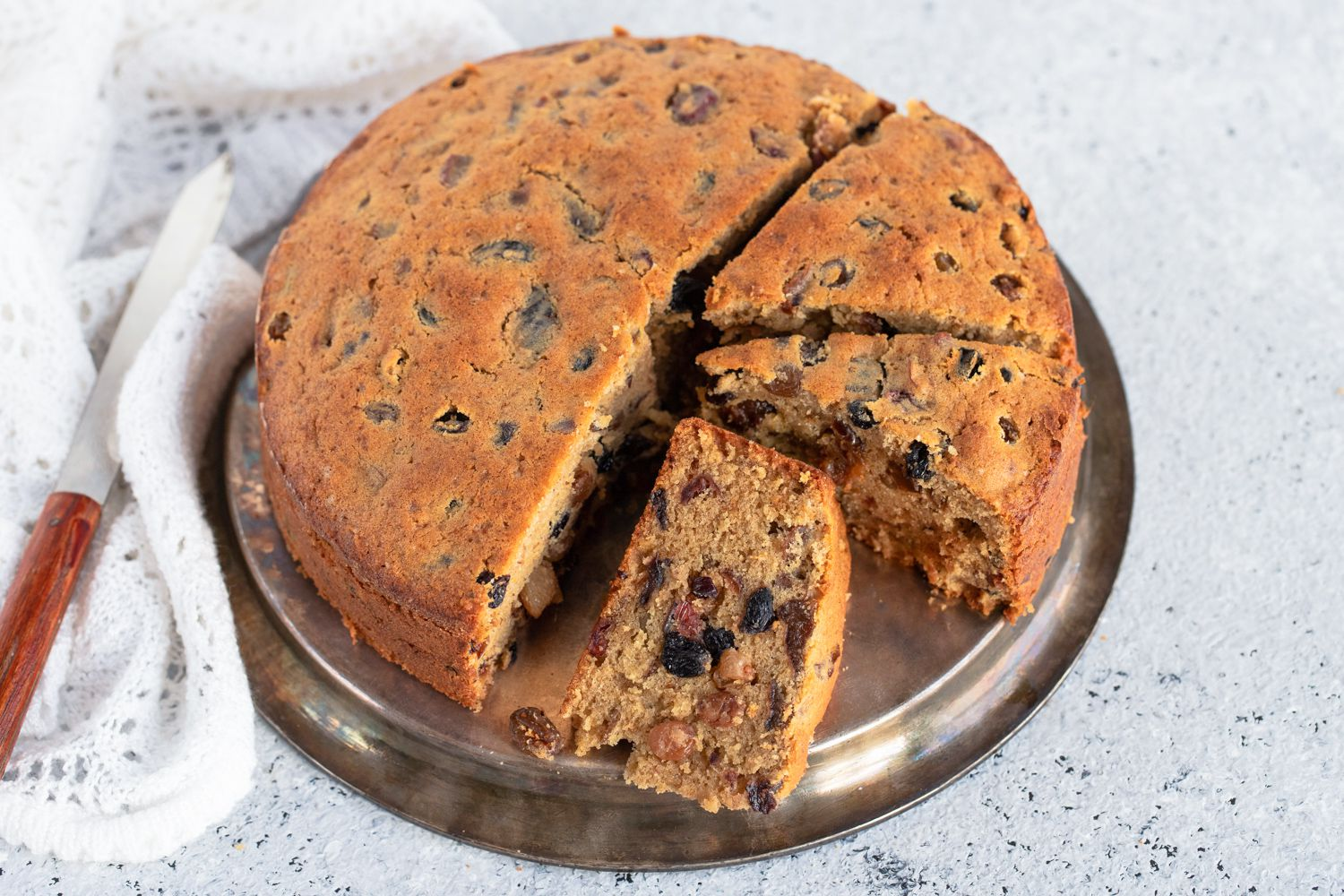 caribbean christmas cake with rum soaked fruits recipe