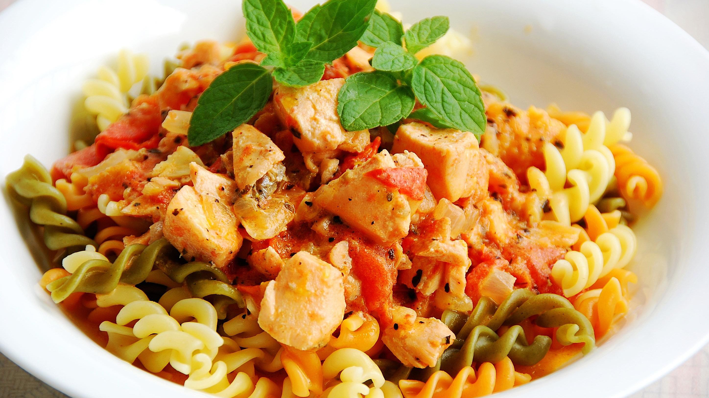 Lemon Salmon Pasta Recipe