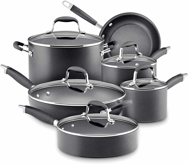 Anolon Advanced 11-pc. Hard-Anodized Nonstick Cookware Set