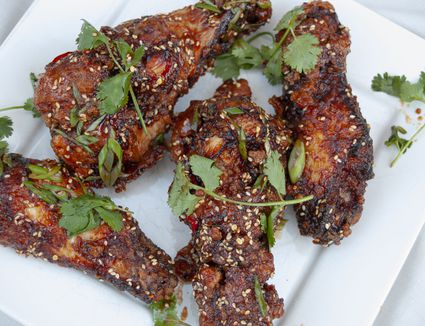 korean style fried turkey wings