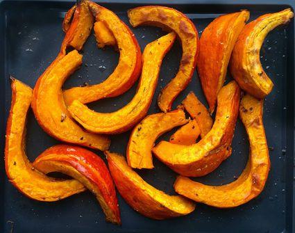 Roasted spiced pumpkin