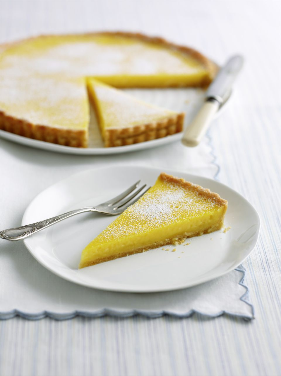 Beautiful Spring Lemon Tart