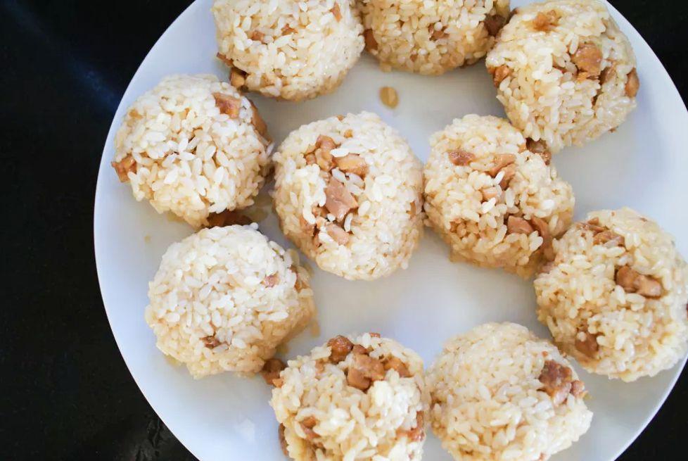 Onigiri (Chicken Rice Balls) Recipe
