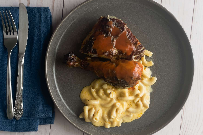 Snap Kitchen chicken on plate