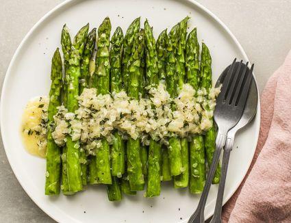 Sautéed Asparagus With Lemon