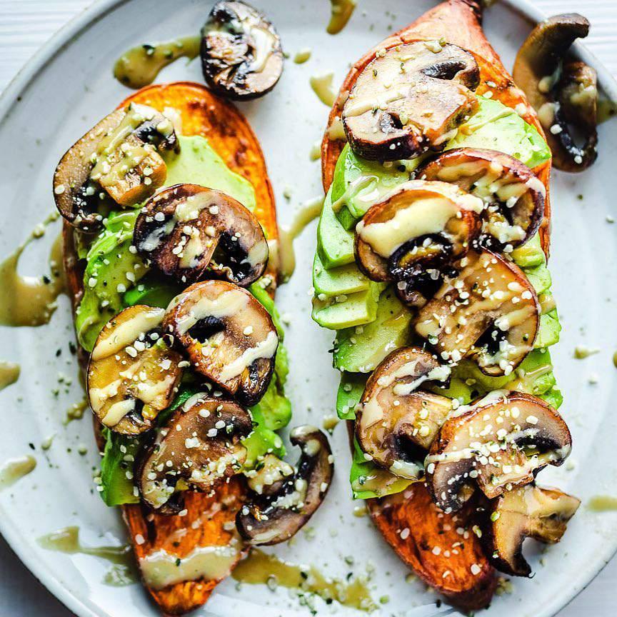 Sweet potato toast - @cookingforpeanuts