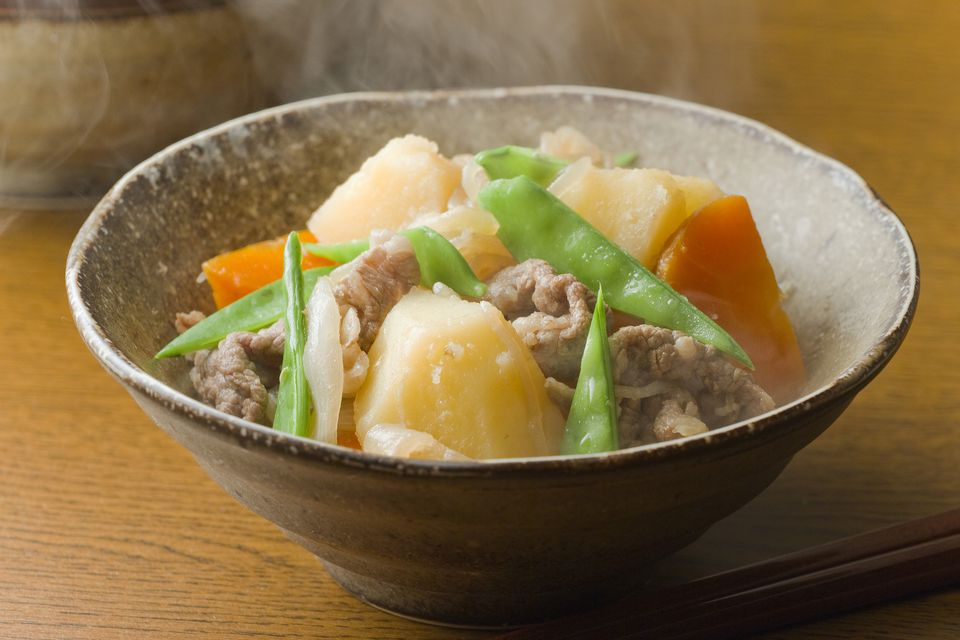 A bowl of Nikujaga